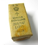 WWII Whistle Box Air Ministry