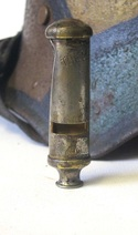 WW1 Whistle Battle Damaged